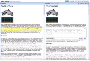 Google Translator Toolkit: Wikipedia fordítás