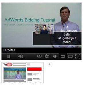 In-Stream hirdetés első 5 másodperce