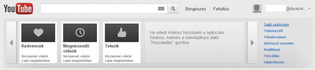 YouTube csatorna létrehozása - Saját csatorna
